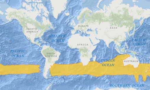Southern Bluefin Tuna Distribution