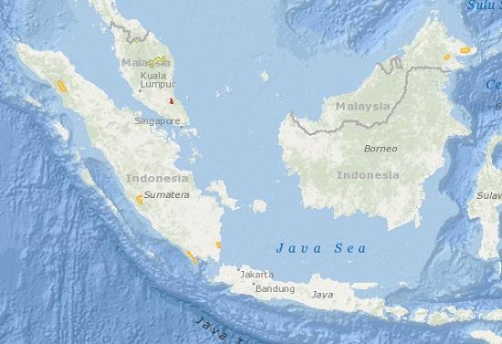 Sumatran Rhino Distribution